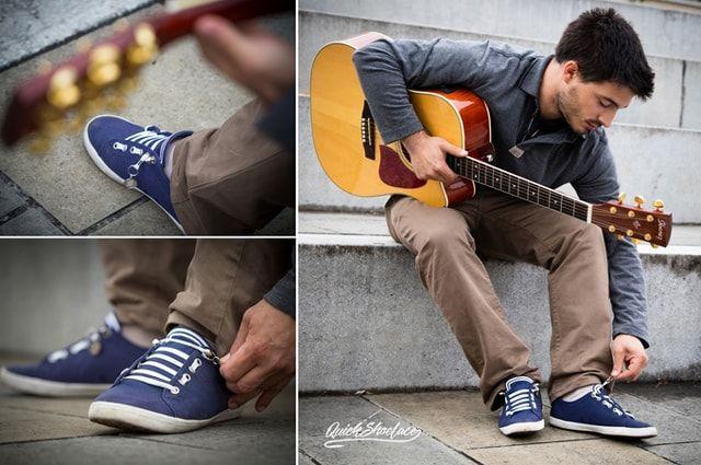 QuickShoeLace - шнурки, которые можно завязать одной рукой