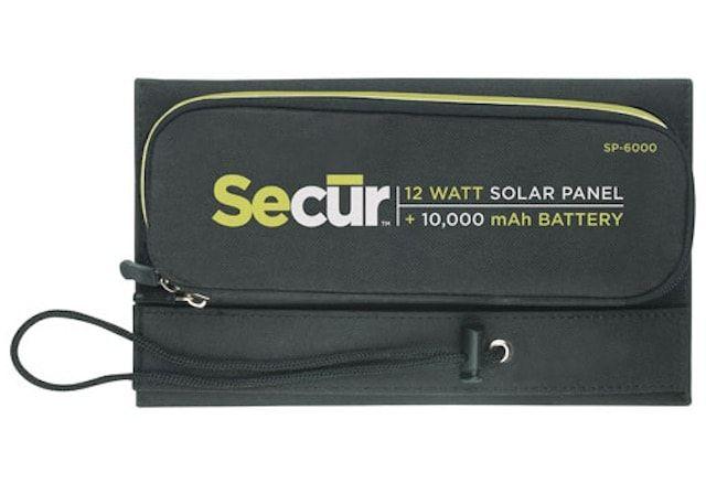 Secur SP-6000 Ultimate Solar Charger - cолнечная зарядка для iPhone и iPad