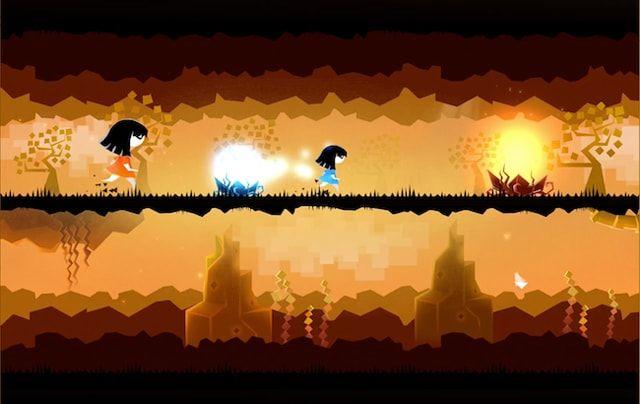 Игра Parallyzed: Surreal Platform Runner - атмосферный платформер о сестринской любви