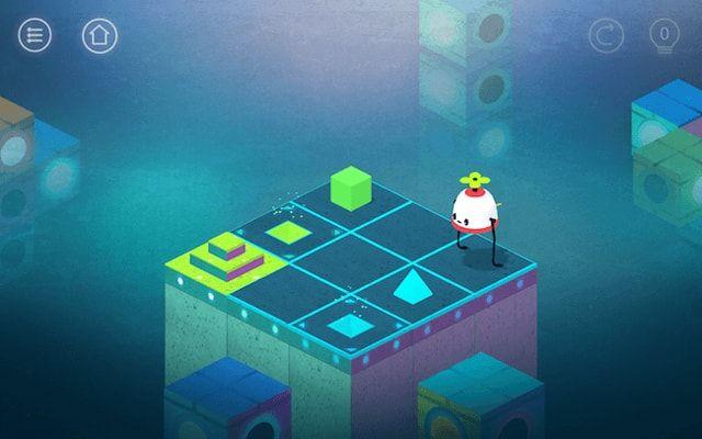 Игра Roofbot для iPhone и iPad - увлекательная головоломка с трогательным сюжетом