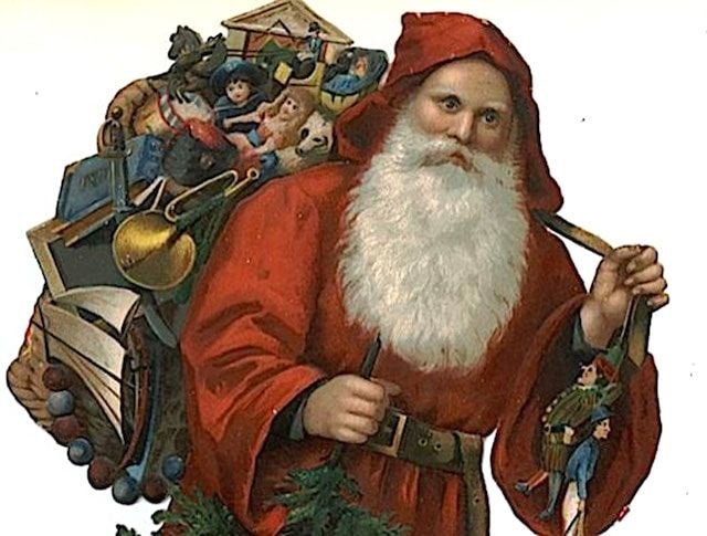 Дед Мороз в Греции