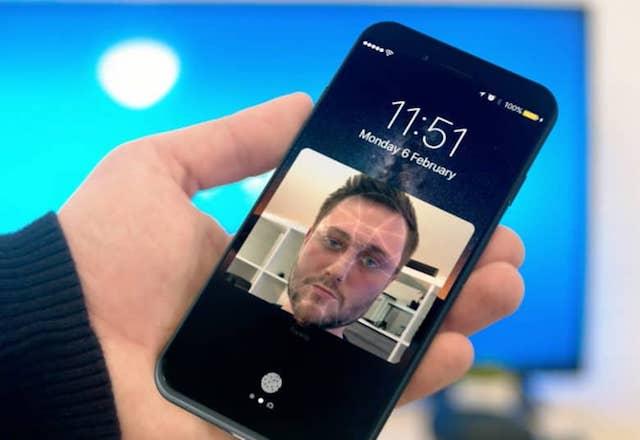 Фронтальная камера FaceTime в iPhone 8