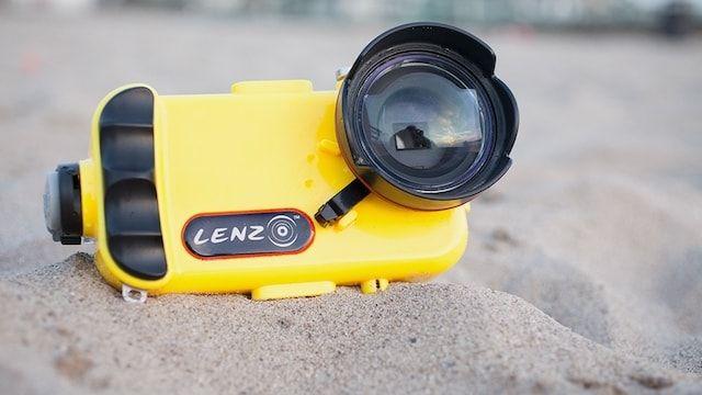 Lenzo - чехол для подводной съемки с iPhone 7 или iPhone 6s