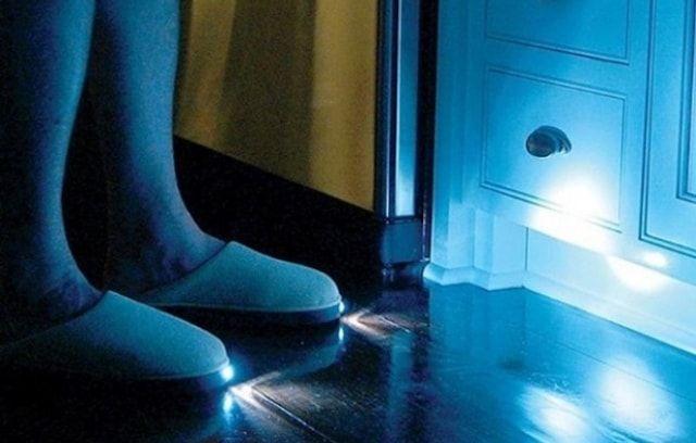 Тапочки с фонариками