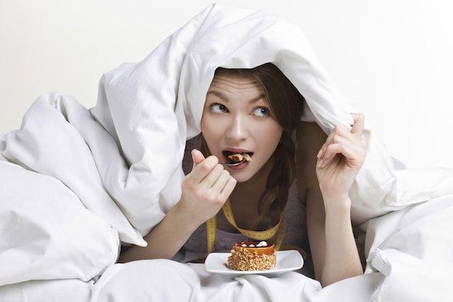 Не ешьте за три часа до сна
