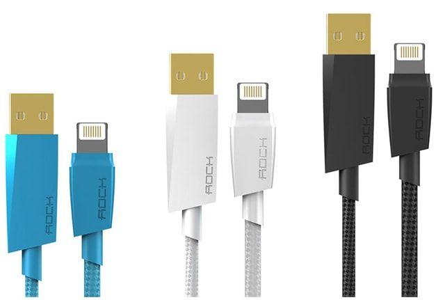 ROCK , ORICO и Remax – MFI Lightning-кабели для iPhone и iPad, не уступающие оригинальному