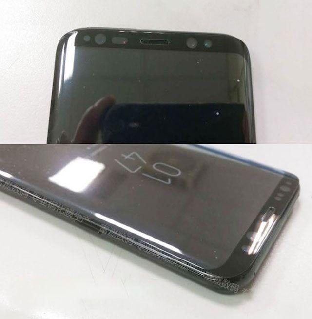 «Живые» фото Samsung Galaxy S8