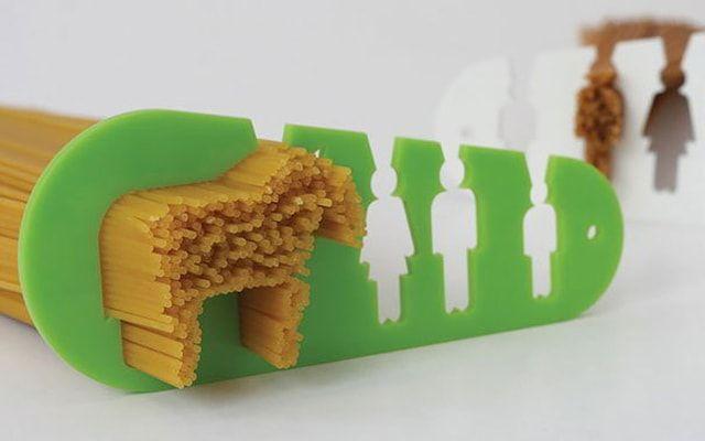 Приспособление для расчета порции спагетти
