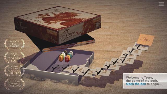 Игра Tsuro для iPhone и iPad - виртуальная версия известной настольной игры