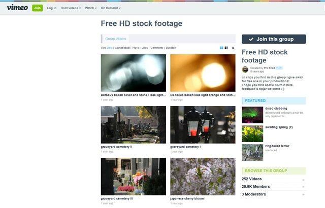 Пять сайтов с бесплатными картинками, видео, футажами и звуковыми эффектами