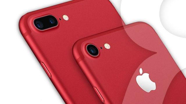 Apple выпустила красный iPhone 7