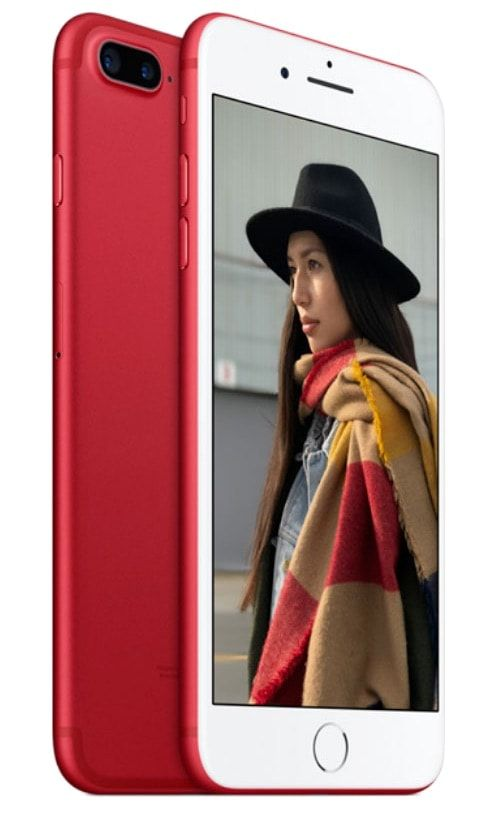 Apple released a red iPhone 7