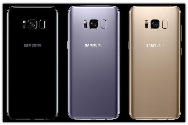 Samsung Galaxy S8 и S8 Plus цвета