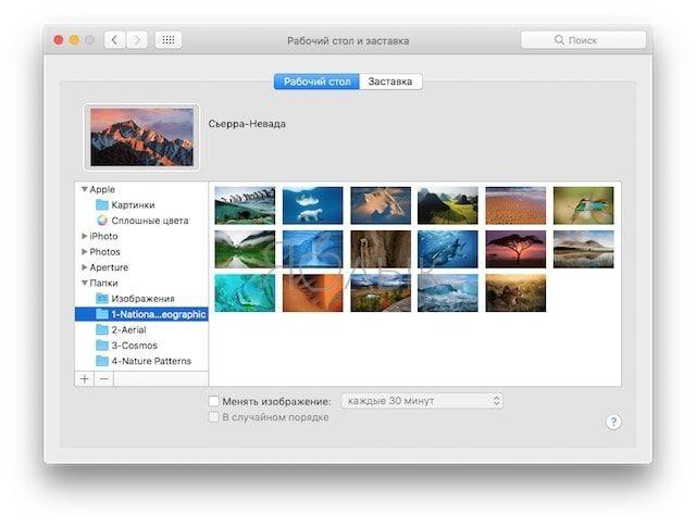 Как использовать заставки macOS в качестве обоев рабочего стола