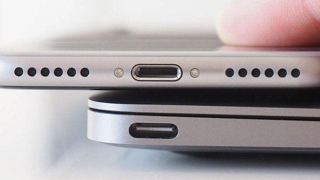 Apple заменит разъем Lightning в iPhone 8 на порт USB-C
