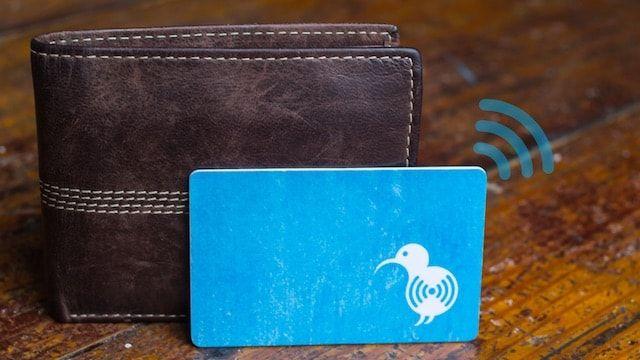 KiwiCard - «умный» Bluetooth-трекер, который поможет найти потерявшийся кошелек