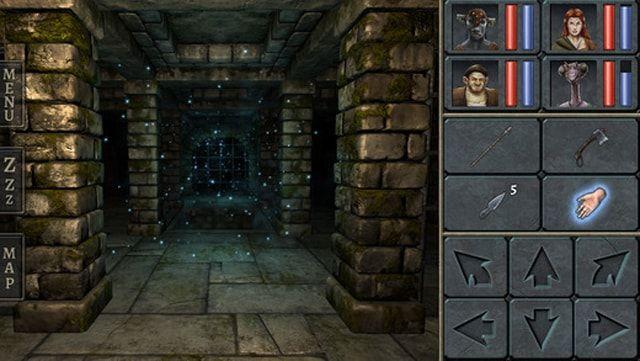 Игра Legend of Grimrock для iPhone и iPad — увлекательные странствия по подземельям