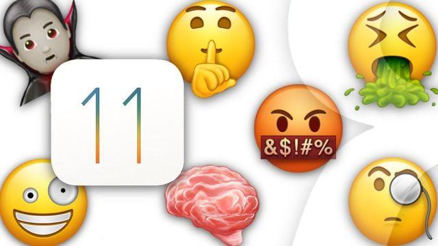 70 новых смайликов Эмодзи из iOS 11