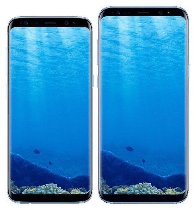 Samsung Galaxy S8 и S8 Plus дисплей