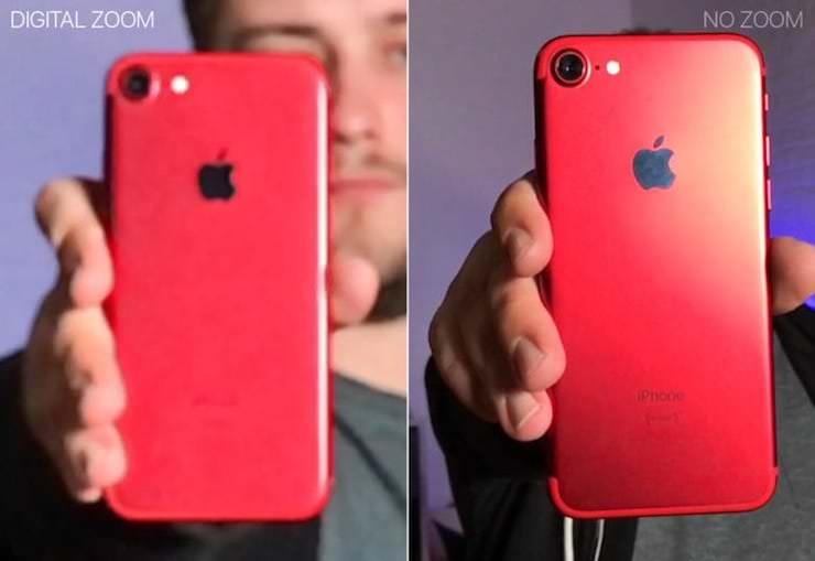 Не применяйте цифровой зум на iPhone