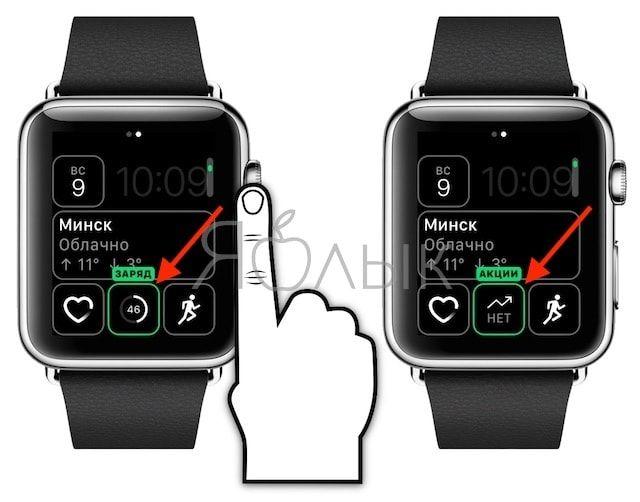 Расширения на Apple Watch