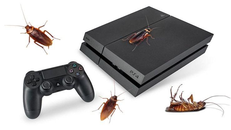 Почему тараканы так любят жить в PlayStation 4?