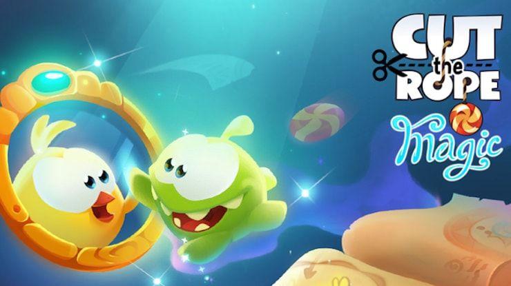 Игра Cut the Rope: Magic для iPhone и iPad