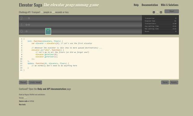 Топ-15 бесплатных браузерных игр для обучения программированию