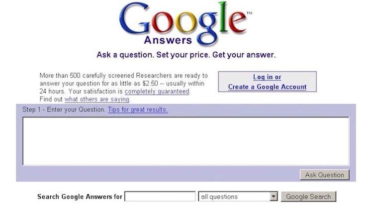 10 популярных в прошлом сервисов Google, которые уже закрыты навсегда