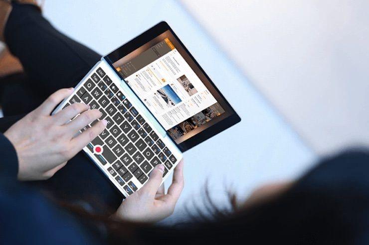 gpd pocket - самый маленький ноутбук в мире