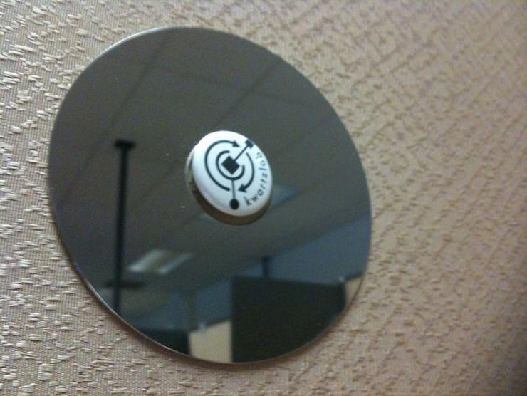 Зеркало из старого жесткого диска HDD