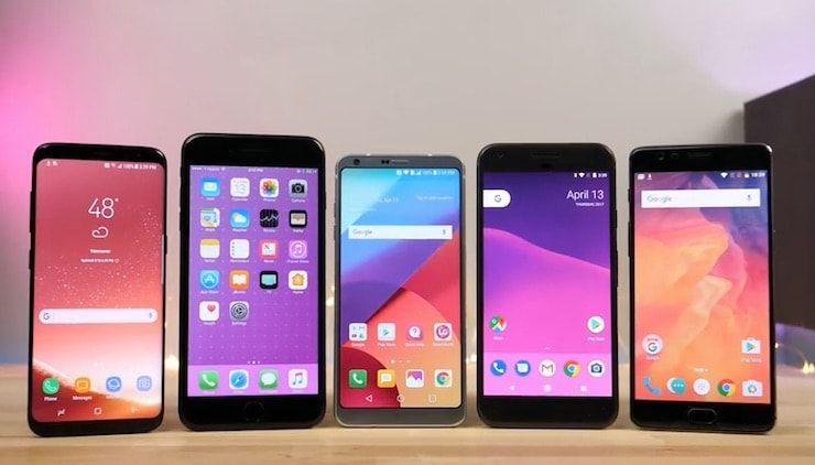 iPhone 7 + Android конкуренты в бенчмарках
