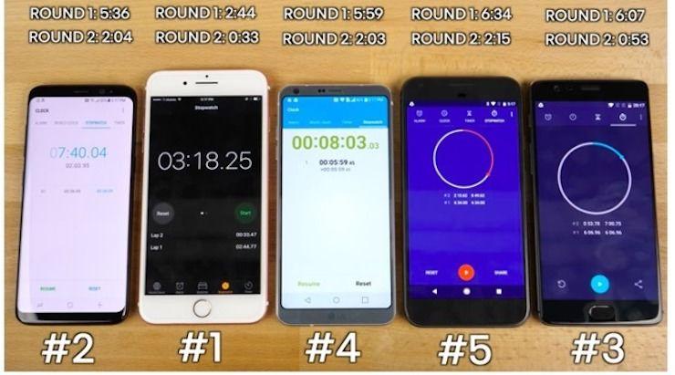 iPhone 7 Plus обходит в бенчмарках и новые Android-смартфоны
