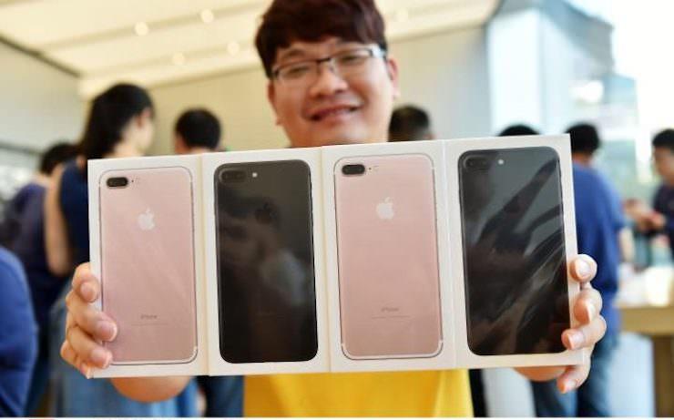 Покупатель iPhone 7