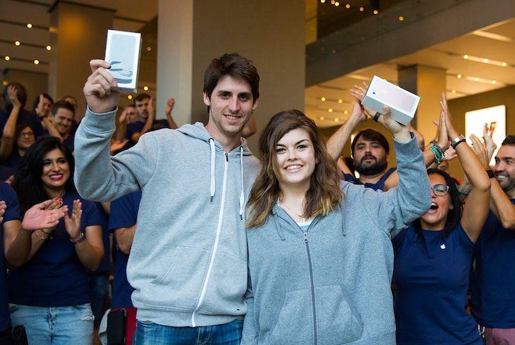 Покупатели iPhone 7
