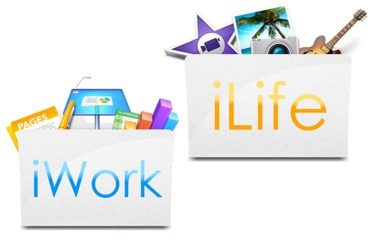 Pages, Numbers, Keynote, GarageBand и iMovie для iPhone, iPad и Mac