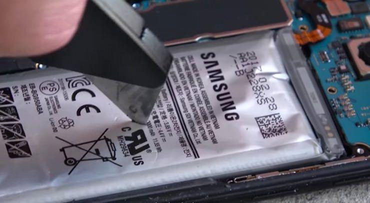 Батарею Galaxy S8 и резали, и прокалывали - теперь не взрывается
