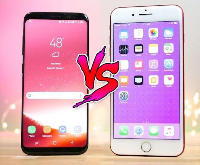 Сравнение Samsung Galaxy S8 и iPhone 7