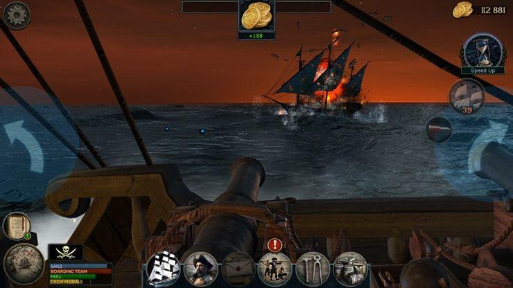 Игра Tempest для iPhone и iPad — первая приключенческая RPG о пиратах с многопользовательским режимом