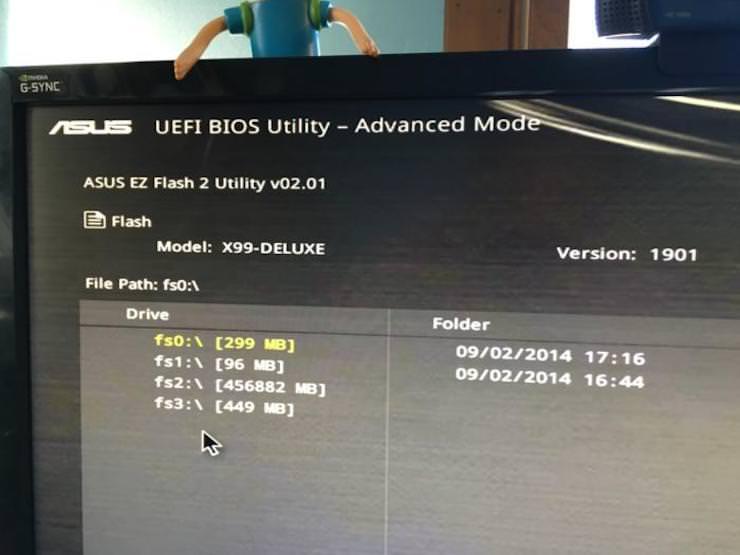 Как обновить BIOS/UEFI