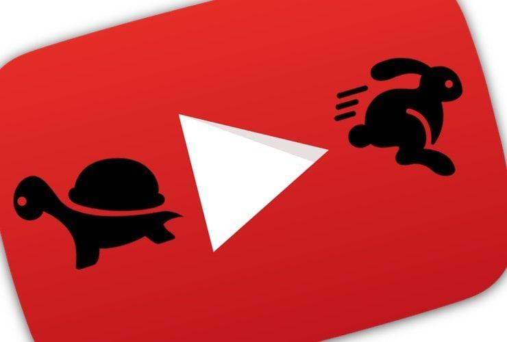 Как ускорить или замедлить видео на YouTube