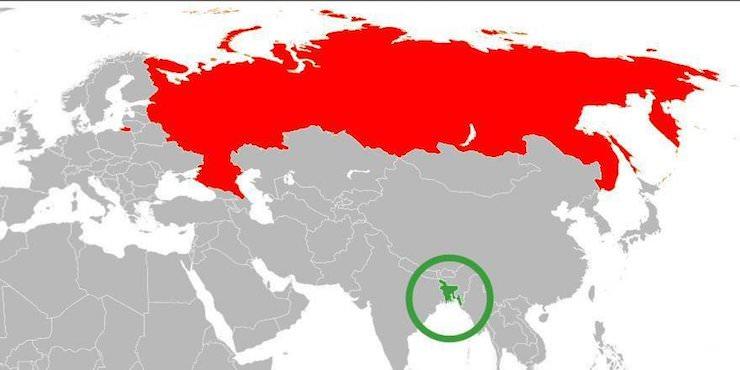 Бангладеш и Россия