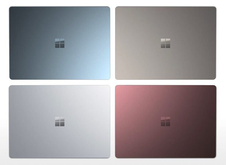 Microsoft представила конкурента MacBook - ноутбук Surface Laptop