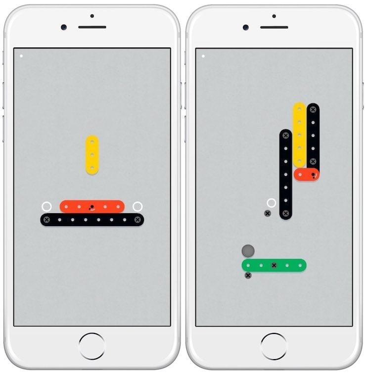 Zip Zap - увлекательная физическая головоломка для iPhone и iPad