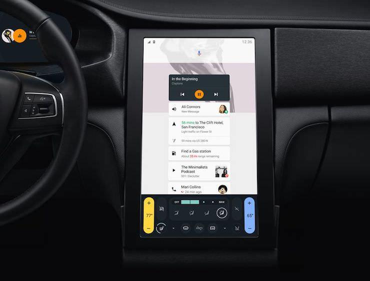 Android в Audi и Volvo