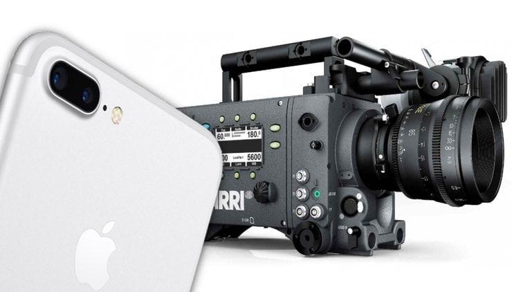 iPhone 7 против профессиональной кинокамеры Arri Alexa