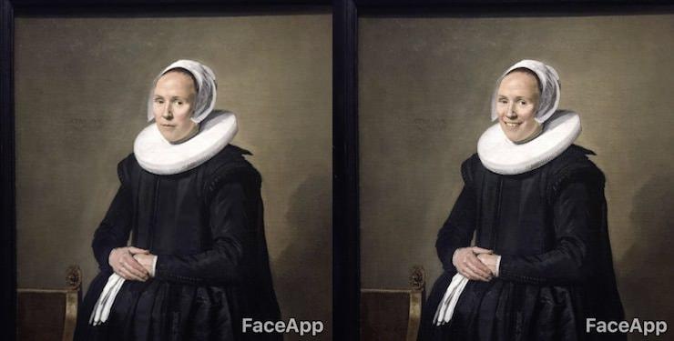 Программа FaceApp заставила улыбаться старинные портреты в музеях
