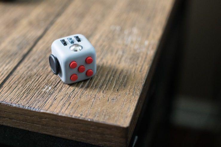 Fidget Cube (Фиджеткуб ) - оригинальный кубик антистресс