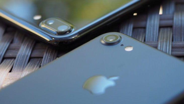 Как снимает iPhone 7