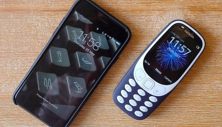 Новая Nokia 3310 и iPhone 7